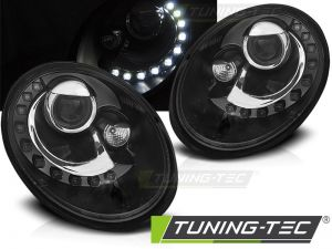 Оптика альтернативная передняя Tuning-Tec LED Volkswagen New Beetle (2006-2012) черная