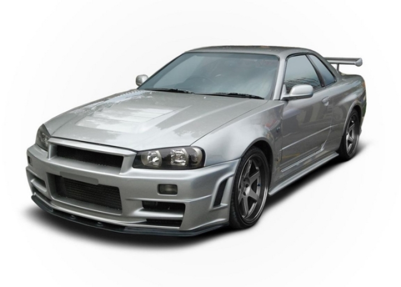 Передний бампер Maxton Design Nissan Skyline R34 GTR Z-Type (1998-2002)  ― Styling-Parts